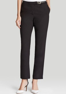 Calvin Klein Side Belt Slim Pants
