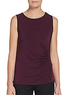 Calvin Klein Side-Ruched Camisole Top