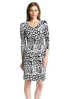 Calvin Klein Side Ruched Jersey Dress