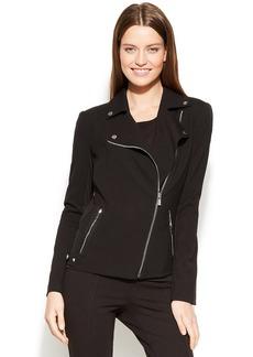 Calvin Klein Side-Zip Moto Blazer