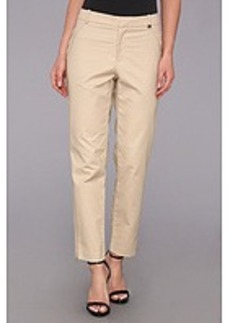 Calvin Klein Skinny Double Layer Cotton Pant