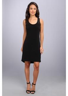 Calvin Klein S/L High-Low Shirt Matte Jersey  Dress