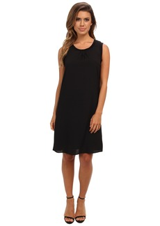 Calvin Klein S/L Rib Trim Dress