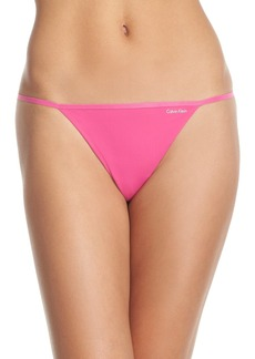 Calvin Klein Sleek G-String Thong (3 for $30)