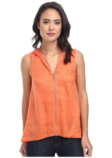 Calvin Klein Sleeveless Handkerchief Top