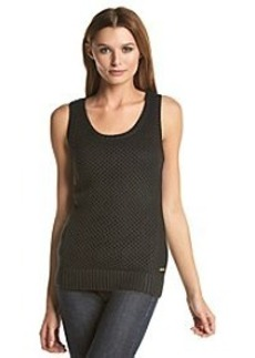 Calvin Klein Sleeveless Openstitch Sweater