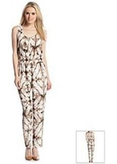 Calvin Klein Sleeveless Printed Jumpsuit