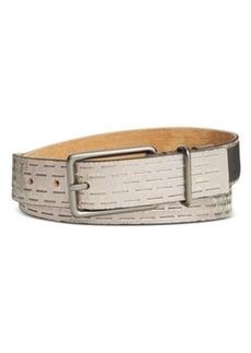 Calvin Klein Sliced Perforated Pant Belt