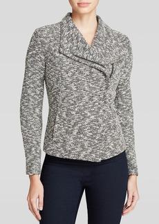 Calvin Klein Slub Knit Jacket