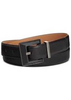 Calvin Klein Smooth Calf Covered Harness Belt