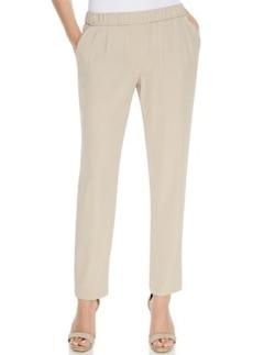 Calvin Klein Soft Straight-Leg Pants