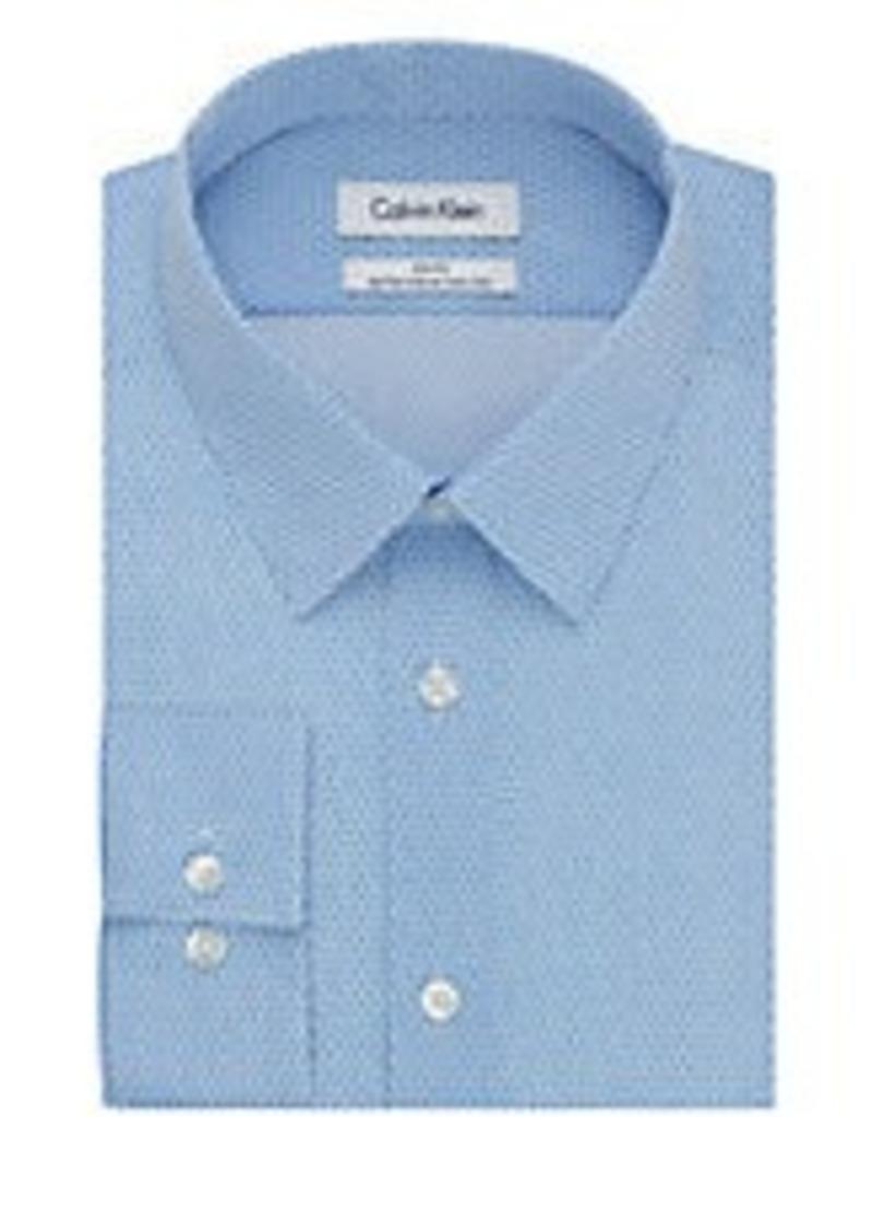 Calvin Klein Calvin Klein Ck Steel Solid Dress Shirt