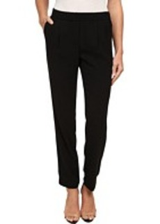 Calvin Klein Solid Soft Suiting Pullover Pants