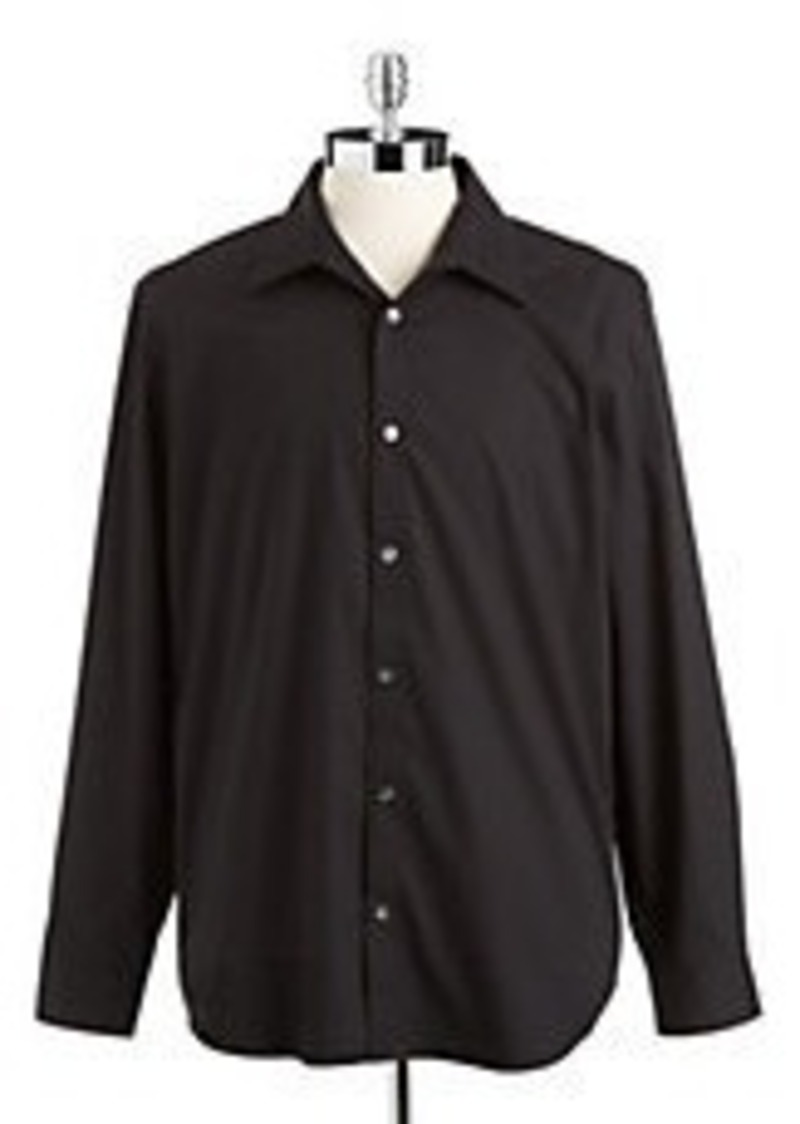 Calvin Klein Calvin Klein Solid Sportshirt Casual Shirts