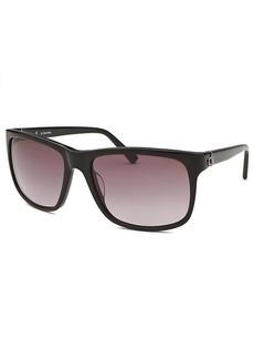 Calvin Klein Square Black Sunglasses