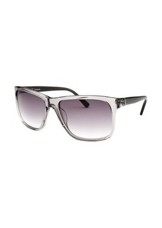 Calvin Klein Square Slate Grey Sunglasses