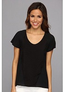 Calvin Klein S/S Stripe Combo Top