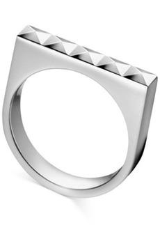 Calvin Klein Stainless Steel Stud Ring
