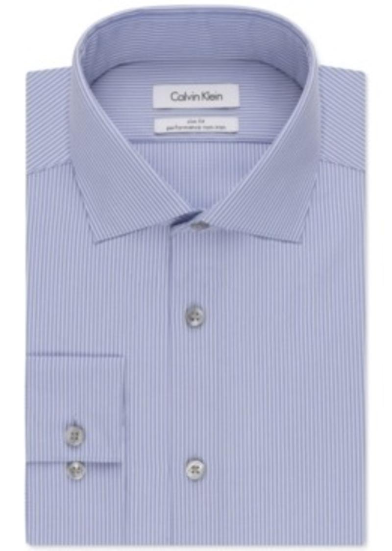 Calvin Klein Calvin Klein Steel Slim Fit Non Iron Blue