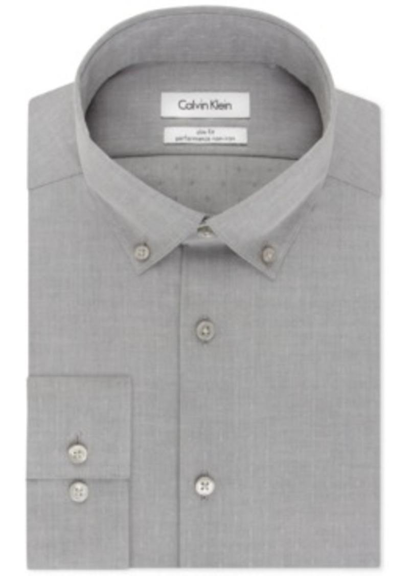 Calvin Klein Calvin Klein Steel Slim Fit Non Iron Dove
