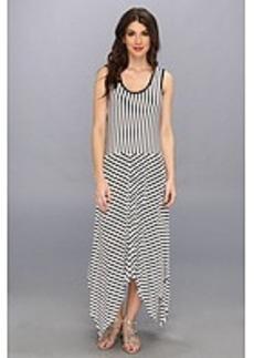 Calvin Klein Stripe Handkerchief Dress