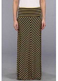 Calvin Klein Stripe Maxi Skirt