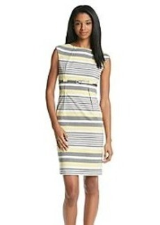 Calvin Klein Stripe Sheath Dress