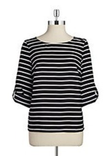 CALVIN KLEIN Striped Blouse
