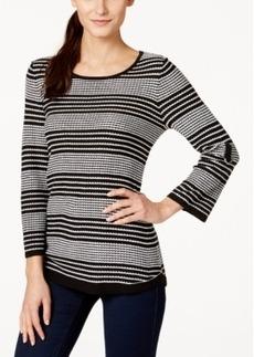 Calvin Klein Striped Crew-Neck Sweater