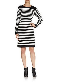 Calvin Klein Striped Knit Dress