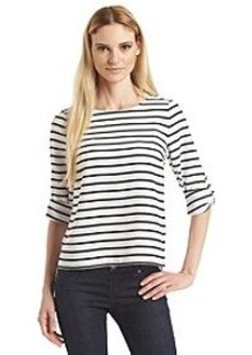Calvin Klein Striped Pullover Top