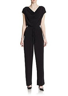 Calvin Klein Studded Cowlneck Jumpsuit