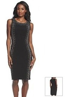 Calvin Klein Studded Sheath Dress