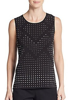 Calvin Klein Studded Shell Top
