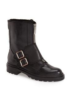 Calvin Klein 'Suzetta' Monk Strap Moto Boot (Women)