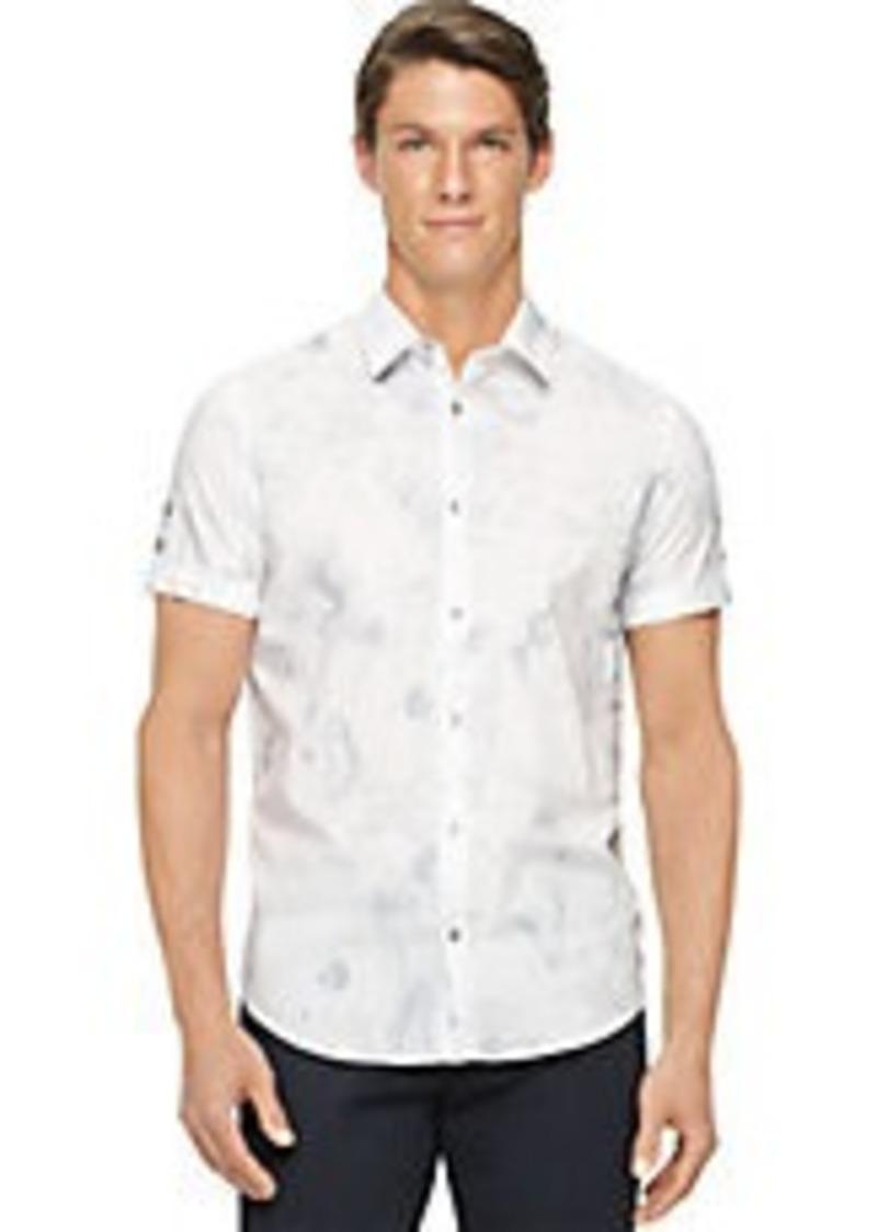 Calvin Klein Calvin Klein Swirl Sportshirt Casual Shirts