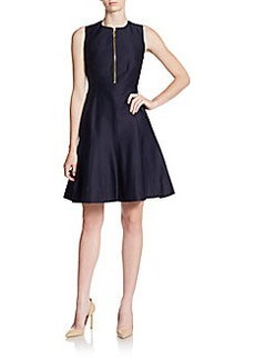 Calvin Klein Tailored Fit-&-Flare Dress