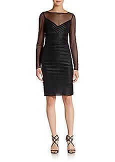 Calvin Klein Textured Illusion-Top Dress