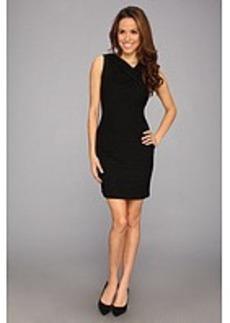 Calvin Klein Textured Matte Jersey Sheath Dress CD3A3VAT