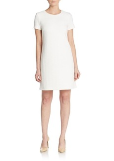 Calvin Klein Textured Ponte Shift Dress