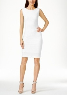 Calvin Klein Textured Sheath Dress