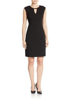 CALVIN KLEIN Textured Shift Dress