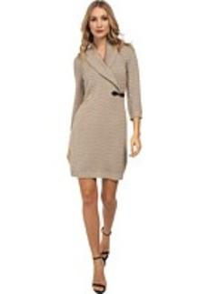 Calvin Klein Textured Sweater Dress