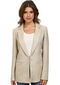 Calvin Klein Textured Tweed Jacket