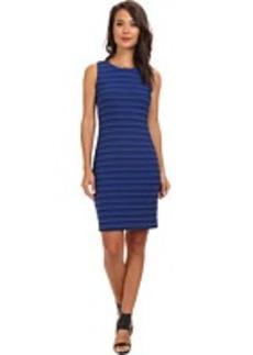 Calvin Klein Textured Wavy Knit Dress