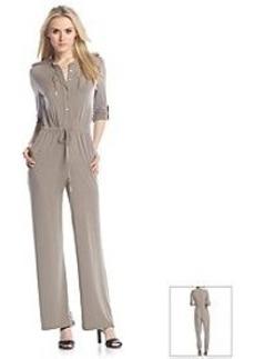 Calvin Klein Three-Quarter Sleeve Jumpsuit