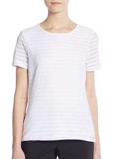 Calvin Klein Tonal Striped Top
