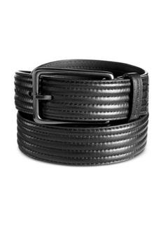 Calvin Klein Trapunto Strap Belt
