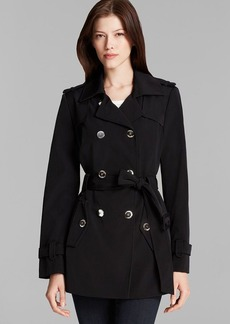 Calvin Klein Trench Coat - Double Breasted Belted