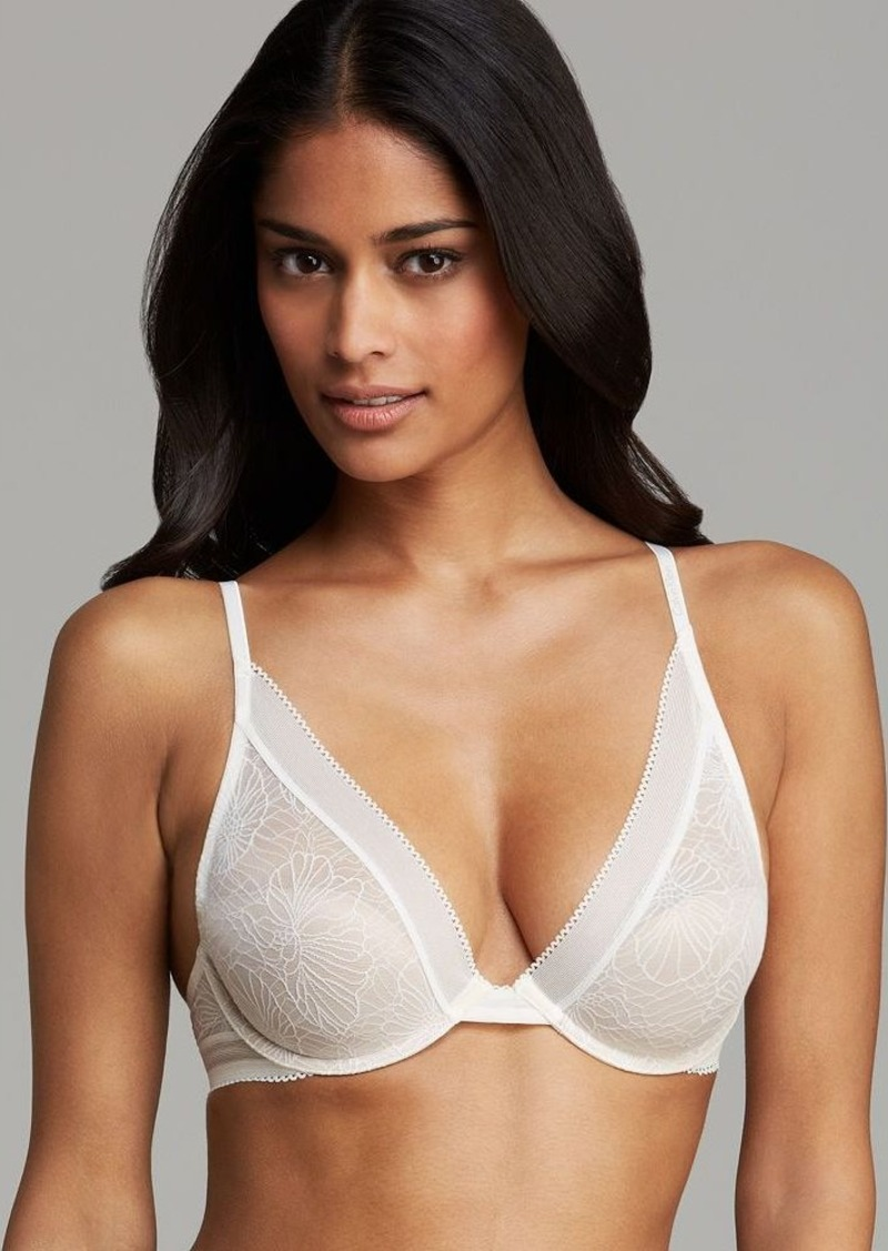 Calvin Klein Underwear Bra - Icon Lace Provocative Plunge #F3717